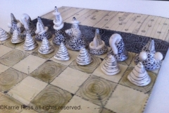 Chess Set handmade
