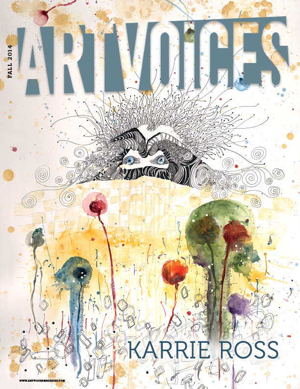 Cover of Art Voices Magazine