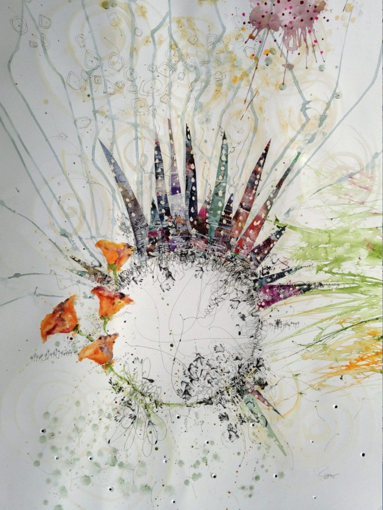 Poppies Burst