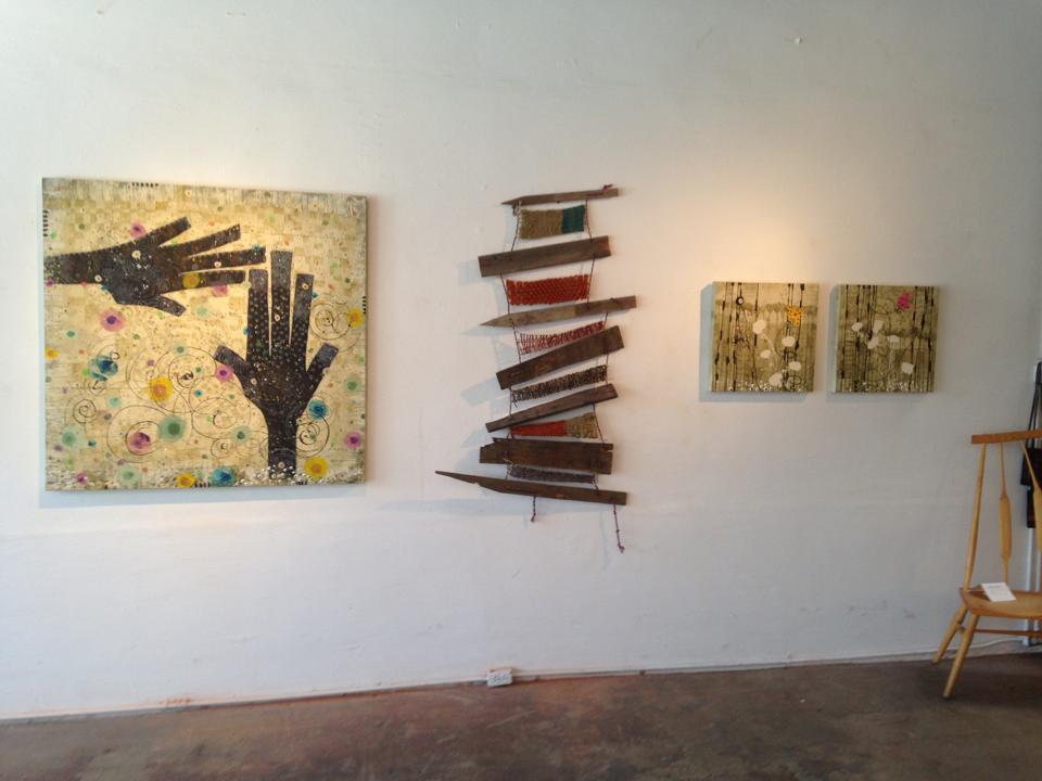 AlteredSpace Gallery: Energy Transfer; 48x48;