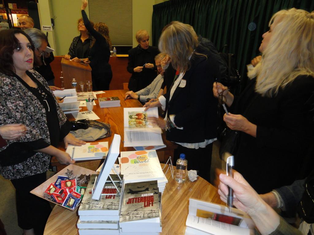 Vromans Book signing