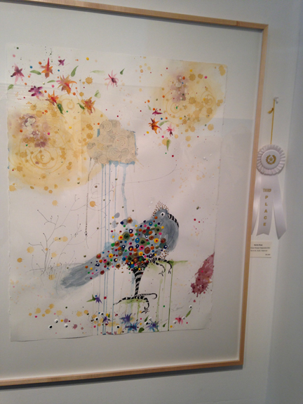 As The Cloud Weeps: Bejeweled Bird by Karrie Ross