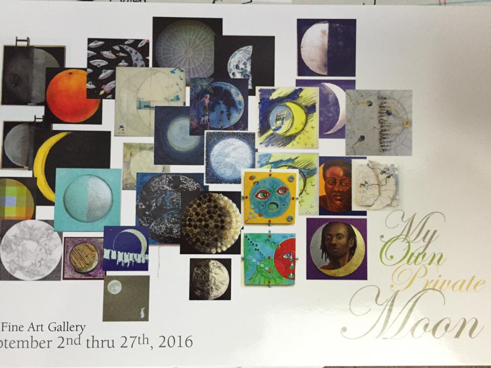 My Own Private Moon curated by Karrie Ross September 2016